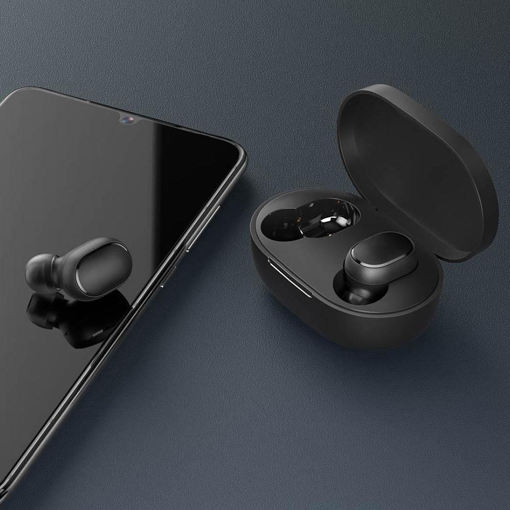 Xiaomi Mi True Wireless Earbuds Basic 2 | Ασύρματα ακουστικά Bluetooth 5.0 TWS με θήκη φόρτισης, μαύρα (BHR4272GL) | Smart and Safe Solutions